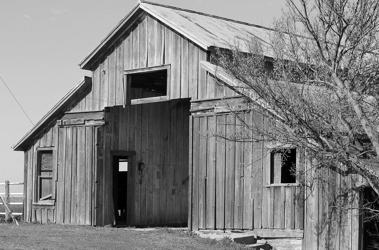 barn, old, historic